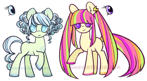 [Freehanded Pony Batch 4] [AUC: CLOSED] by SharkMochi