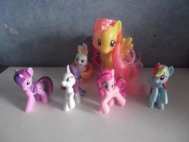 My Little Ponies by ecmc1093