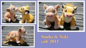 Simba and Nala cub 2011 by Laurel-Lion