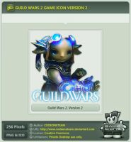 Guild Wars 2 Icon v2 by CODEONETEAM