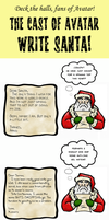 AVATAR WRITES SANTA by Booter-Freak