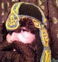 Gimli helm with eybrows after they were trimmed by Drgibbs