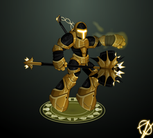 Aurum Knight | Oversoul by oznplt