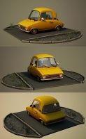 Cartoon car by Aci-RoY