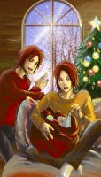 Twins Xmas2008 by GENgoodstick