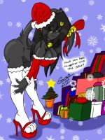 Naughty Or Nice Holiday Boing Boing Special Color by krocialblack
