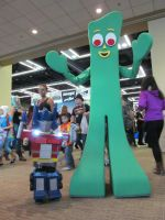 Gumby Costume and a Mini Prime..!!! by OlyRider
