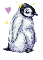 Baby penguin journal doll by xxSkyfrost