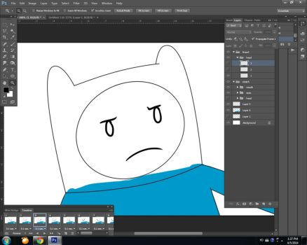 Adventure Time Animation WIP !!!! by DokiFanArt