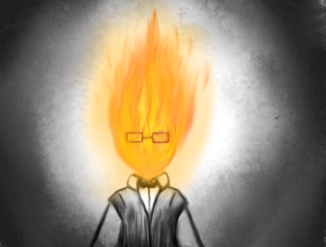 Grillby by pokesonic100