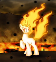 Blazin' Inferno by OmegaSunBurst