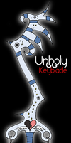 Unholy Keyblade by tagness