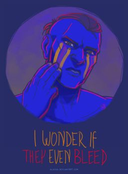 I Wonder If They Even Bleed by Alassa