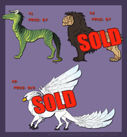 Dino Designs For Sale! by AddictionHalfWay