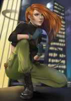 Kim Possible by inktion