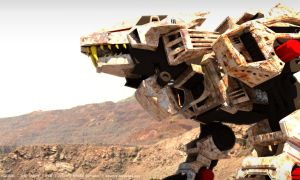 Zoids-The Movie- Liger Zero 02 by 3DRaptor