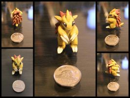 #028 Sandslash by cheese-puff82