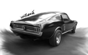 Ford Mustang by Indiependent1