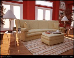 Living Room by ALBITAR