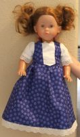 Blue Doll Dress by Shpout