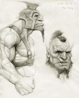 Orge and Orc by Kimsuyeong81