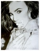 Keira Knightley by Hollow-Moon-Art