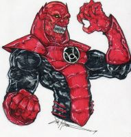 Atrocitus :red: rage by ChrisOzFulton