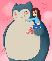 Snorlax by spyke-sk