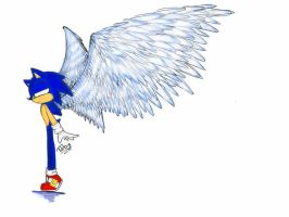 COLLAB WITH TIBBY:SONIC THE ANGEL-HEDGEHOG by Silver-chan2000