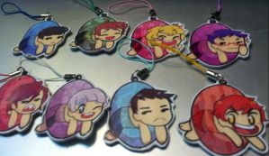free! iwatobi swim club key chains by zamii070