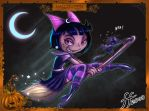 Luna the Witch by 14-bis