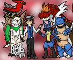 Team Picture (Pokemon Y) by Dianamond