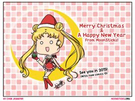 Sailor Moon Crystal Christmas by Chibi-Jennifer