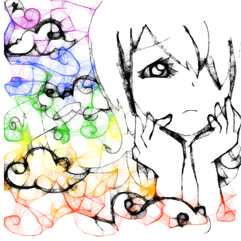 Iscribble a rainbow by kana-4L4