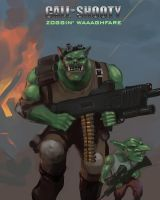 Call of Shooty: Zoggin' Waaaghfare by OEVRLORD