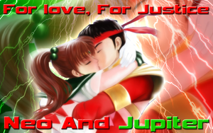 RQ- Neo and Jupiter Wallpaper by Supremechaos918
