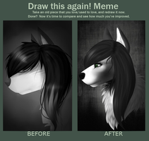 Draw This Again Meme by Osolito