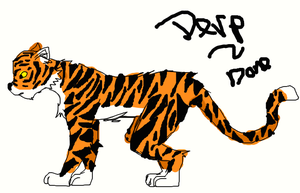 How to Draw a Tiger :Muro: by FEARxxMYxxFANGS