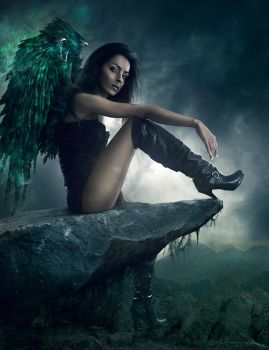 Dark Angel by michellemonique