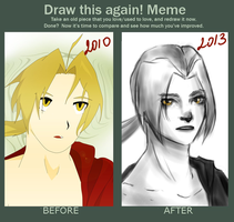 Draw this again MEME by tomrilove