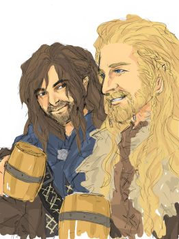Fili and Kili by airakusumas