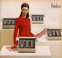 Friden Calculators by pandoraicons