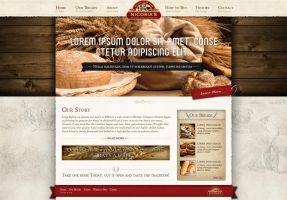 Breads Site Home Page by kpp0209