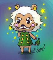 Lionel from Animal Crossing by pie7d2