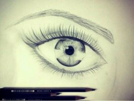 Woman's Eye by kmitchell337