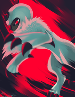 Day2 [DARK] Absol by Rock-Bomber