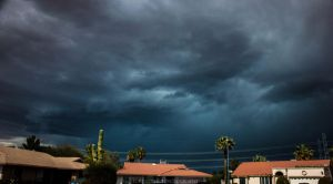 Immature Storm Cell, Peoria, AZ by thegirlcalledratha