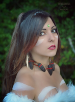 Nidalee from League of Legends Cosplay by Dragunova-Cosplay
