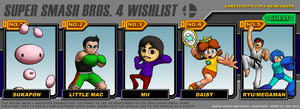Super Smash Bros  4 Wishlist Meme by ErnestoGP