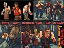 Final Fight Streetwise pack by monkeygigabuster